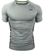 LITHE LINE T-SHIRT GREY - EVERFIT