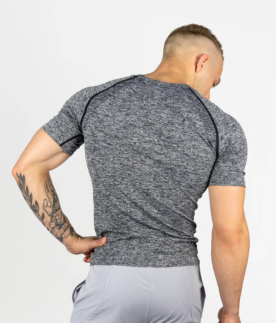 Seamless T-shirt - Charcoal Grey - EVERFIT