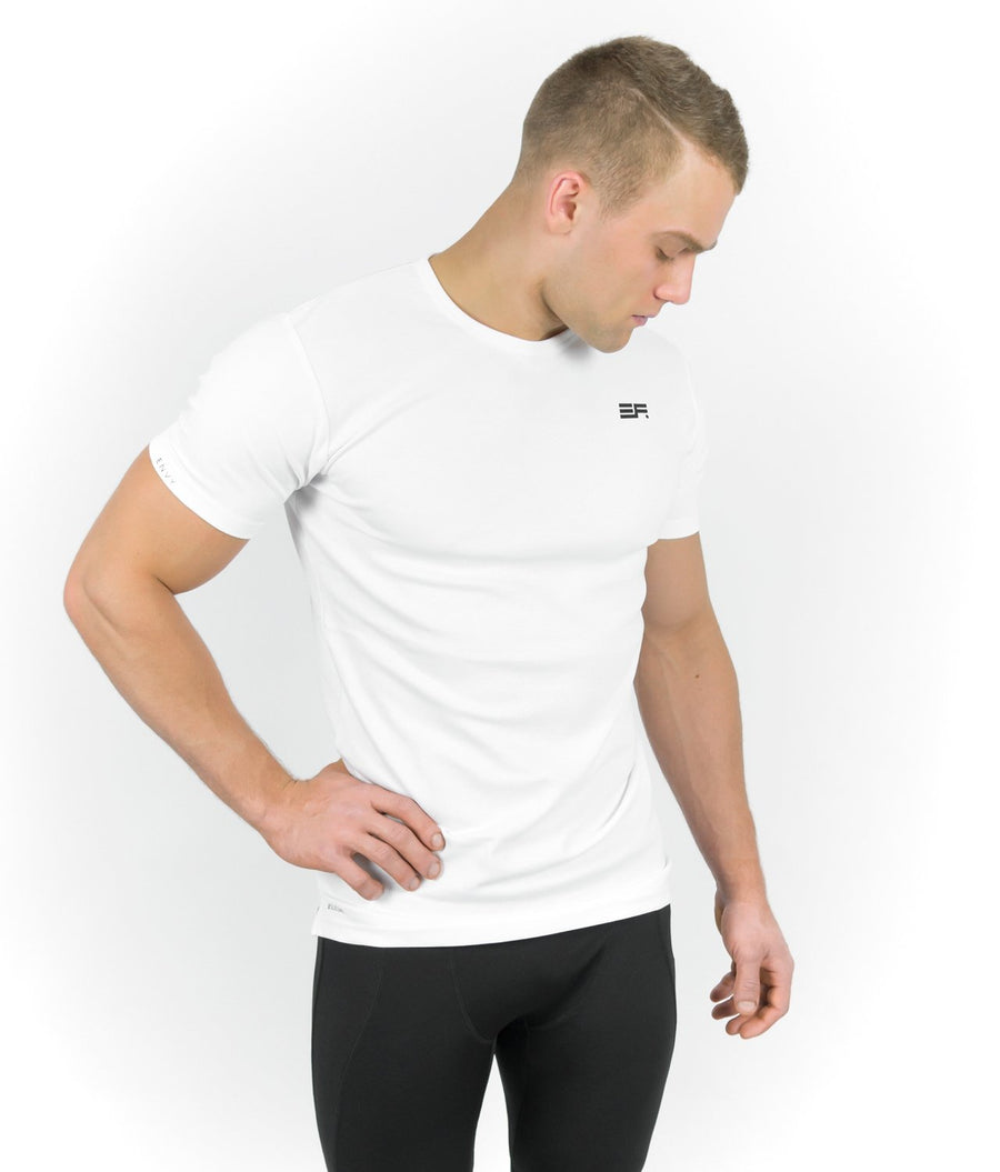 SILICONE T-SHIRT WHITE - EVERFIT