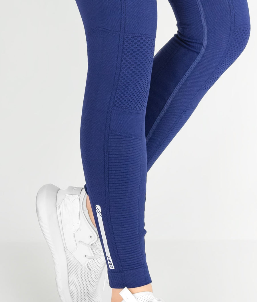 Contour Leggings - Navy - EVERFIT