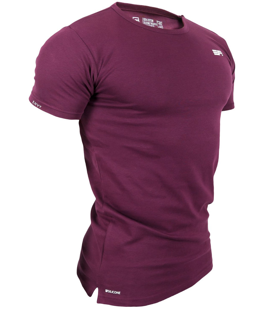 SILICONE T-SHIRT MAROON - EVERFIT