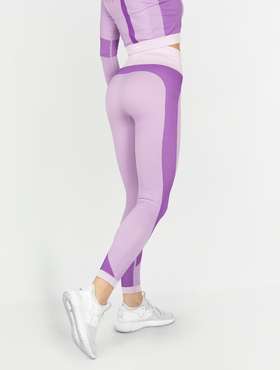 EVER FIT Leggings - Violet - EVERFIT