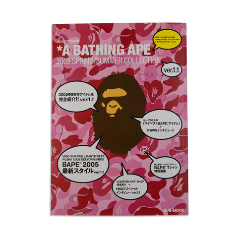 A Bathing Ape BAPE KAWS 2005 Spring Summer collection e-Mook Book Magazine Nigo Blanket