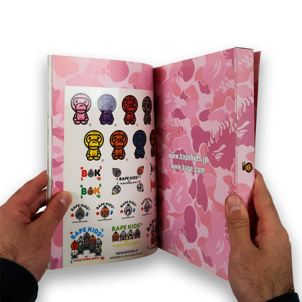 A Bathing Ape BAPE KIDS 2009 Spring collection e-Mook Book Magazine Nigo Baby Milo Wrist Watch
