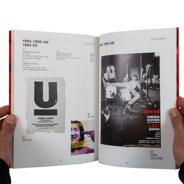 Undercover Under Cover Quotation Special Edition Book 25th Anniversary 2014