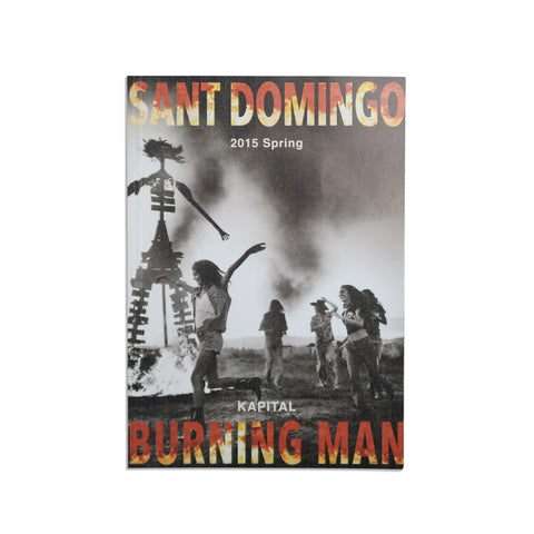 "Spring 2015 Catalog ""SANT DOMINGO BURNING MAN"""