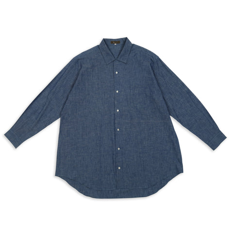 Oversized Selvedge Chambray Shirt (SS 2002)