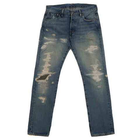Distressed 501 Jeans (2014)