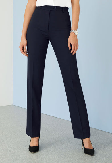 Grosvenor Straight Leg Trousers Navy