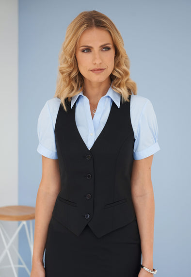 Waldorf Ladies Waistcoat in Black colour