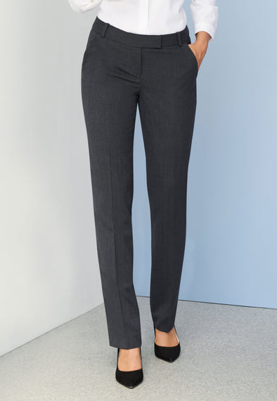 Astoria Tailored Fit Trousers Mid Grey