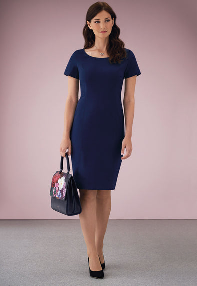 Teramo Dress Mid Blue