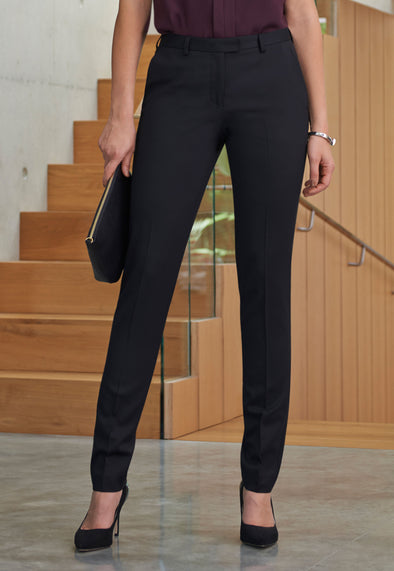 Hempel Slim Leg Trousers Black