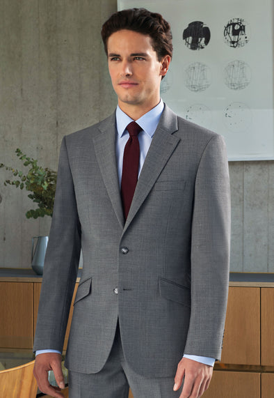Avalino Tailored Fit Jacket Light Grey