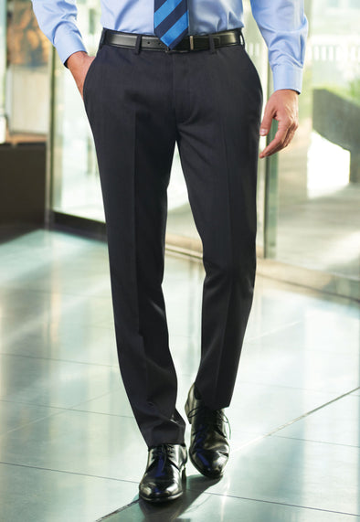 Holbeck Slim Fit Trousers Charcoal