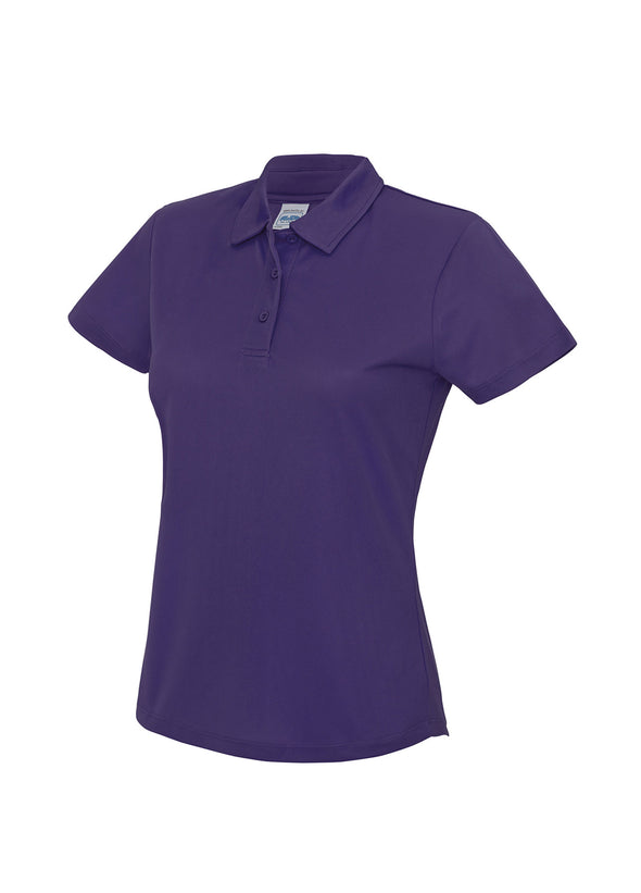 Ladies Cool Polo Shirt Purple