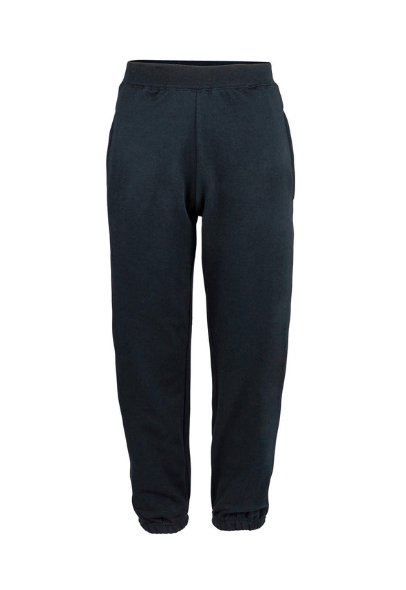 JH072 College Cuffed Sweatpants Navy