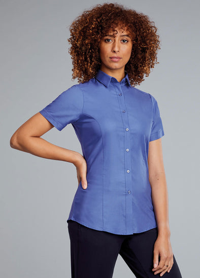 Megan Contemporary Blouse Short Sleeve
