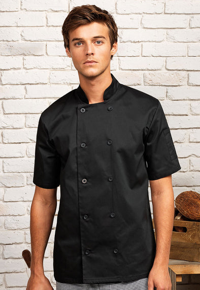 PR656 Short Sleeve Chef's Jacket