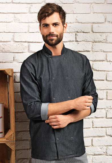 PR660 Denim Chef's Jacket