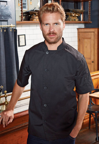 PR900 Chef's Essential Short Sleeve Jacket