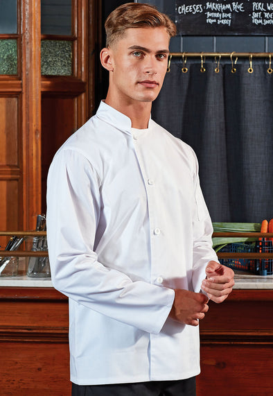 PR901 Chef's Essential Long Sleeve Jacket