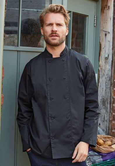 PR903 Chef's Coolchecker Long Sleeve Jacket