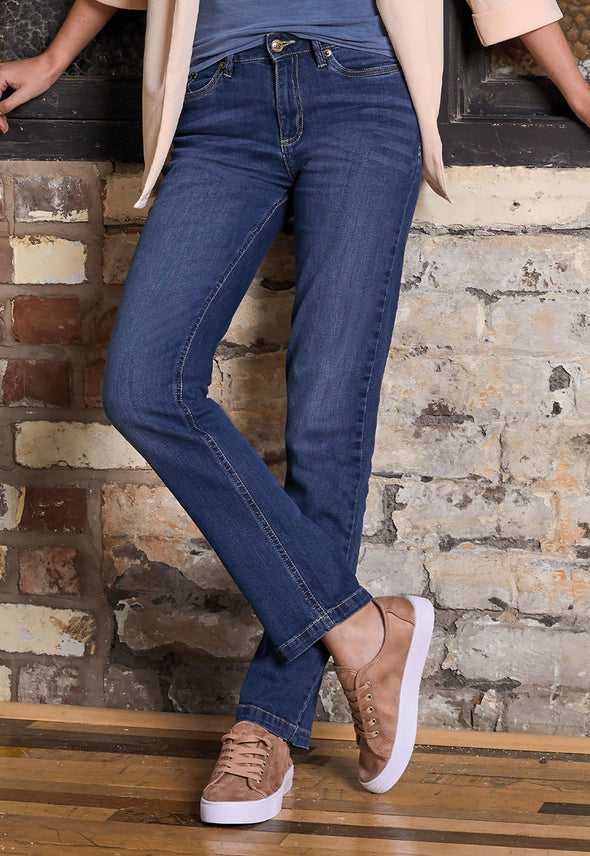 SD011 Women's Straight Jeans