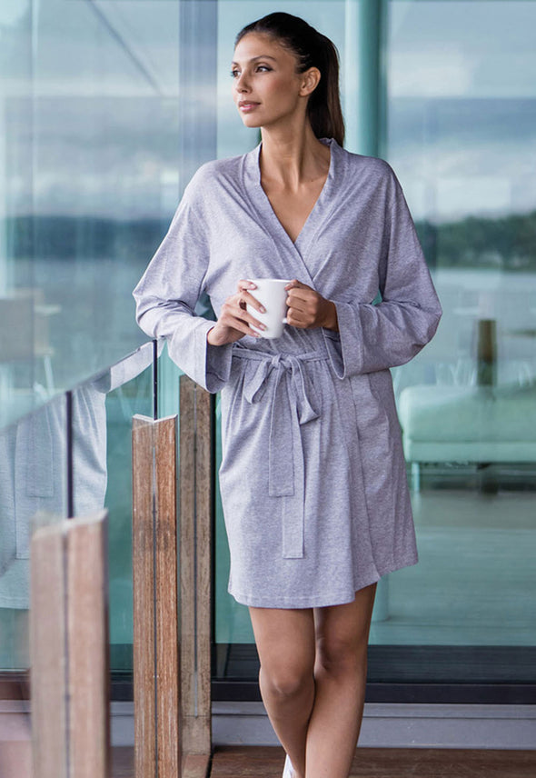 TC050 Women's Wrap Robe