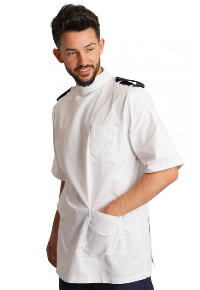 NDMTE - Men's Dental Healthcare Tunic with Epaulettes
