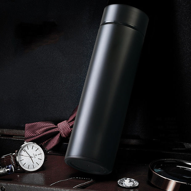 Thermos Vacuum Flasks with Temperature Display - Alpha Coffee USA