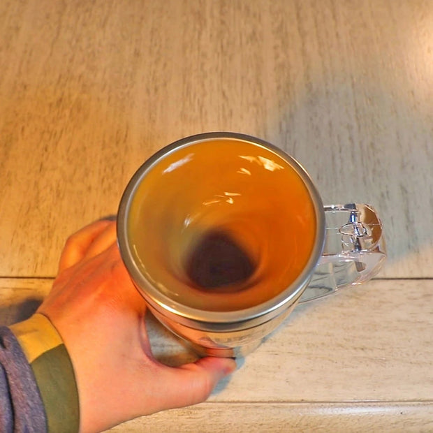 Transparent Automatic Self Stirring Mug - Alpha Coffee USA