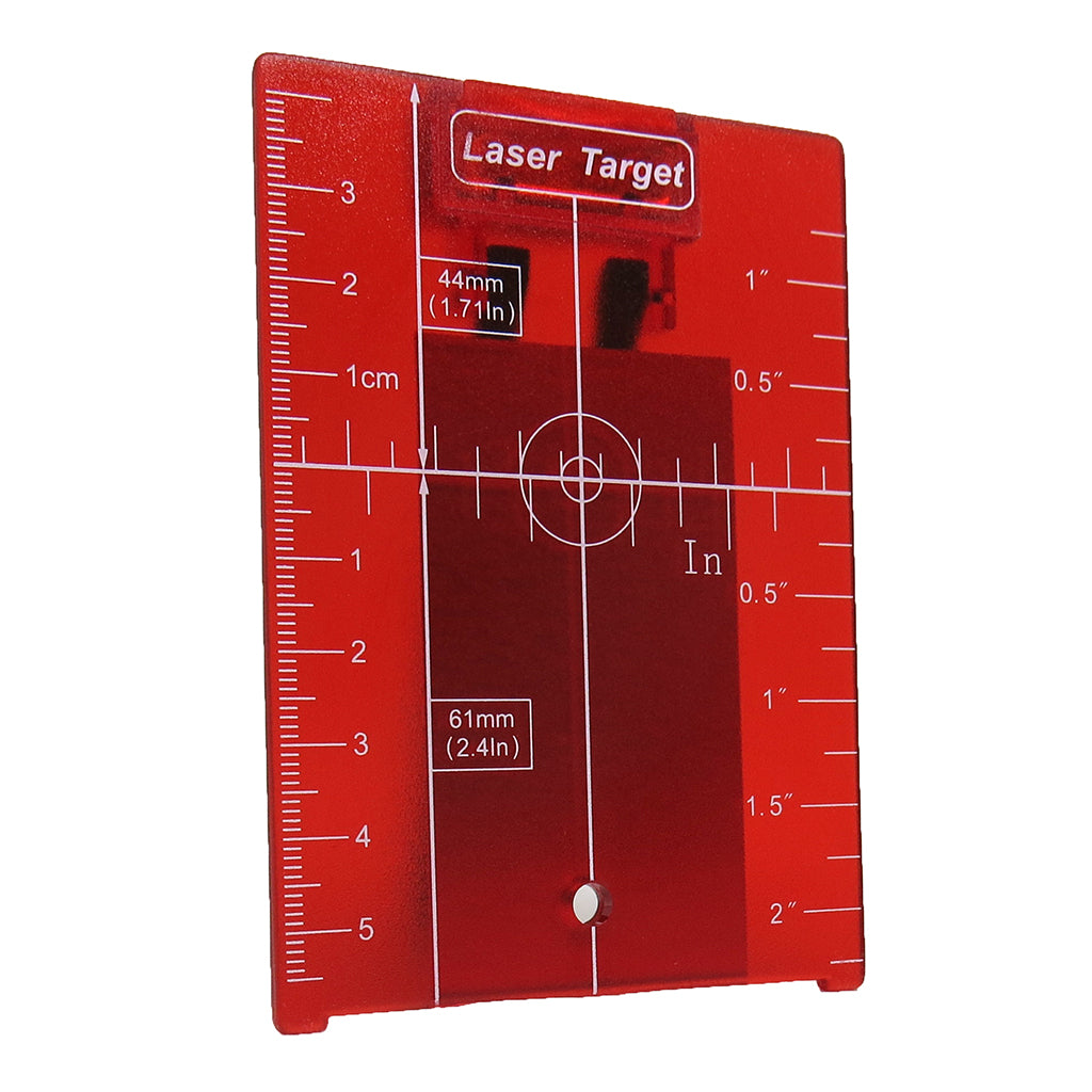 Red Target Plate