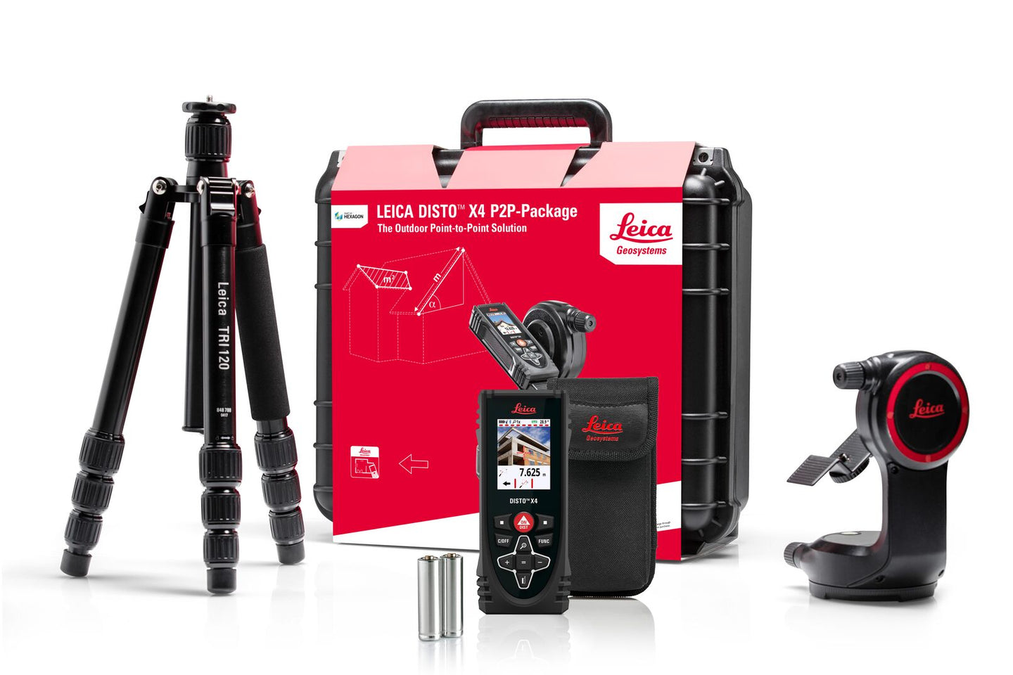 Leica DISTO X4 P2P Package