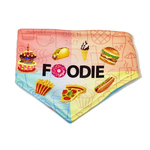 Foodie / In Bacon We Trust Reversible Dog Bandana