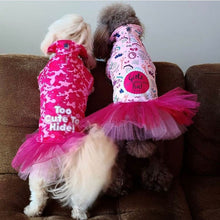 Load image into Gallery viewer, Girlz Just Wanna Have Fun! Dripping Dog Coat