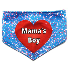 Load image into Gallery viewer, A Mama's Boy Reversible Dog Bandana