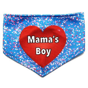 A Mama's Boy Reversible Dog Bandana