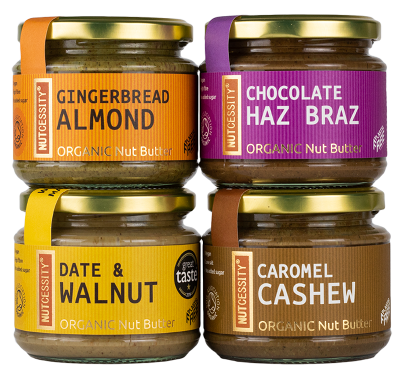 Nut Butter Organic Selection (4 Jars)
