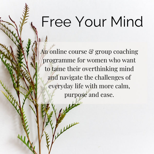 Free Your Mind 4-week Programme