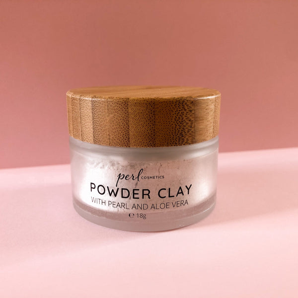Powder clay