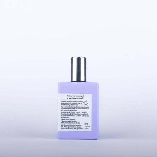Lavender Organic Single Note Eau de Parfum