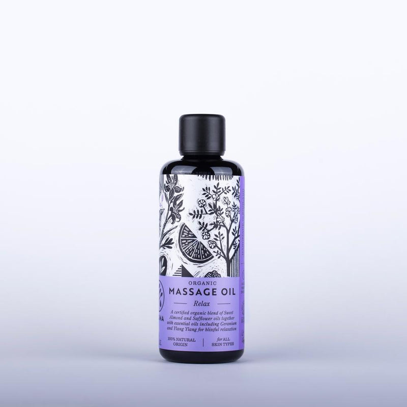 Relax Organic Massage Oil