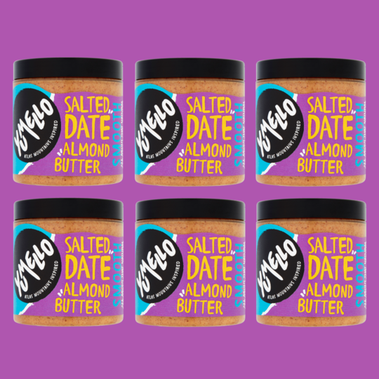 SMOOTH SALTED DATE ALMOND BUTTER (6 JARS)
