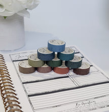 Load image into Gallery viewer, Bold Stripe Washi Tape Box Set