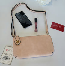 Load image into Gallery viewer, Andlo Twist Lock Light Pink Crossbody Bag