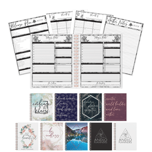 Load image into Gallery viewer, Author Daily Undated Planner (Pick Your Own Cover)