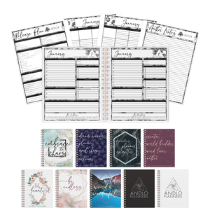 Author Daily 2021 Planner (Pick Your Own Cover)