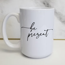 "Load image into Gallery viewer, Pick Your ""Be"" Word Customizable Classic Script Mug"