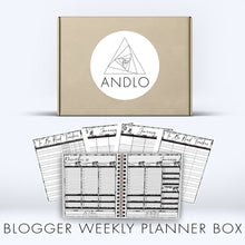 Load image into Gallery viewer, Book Blogger Weekly 2021 Planner Box (Pick Your Own Cover)